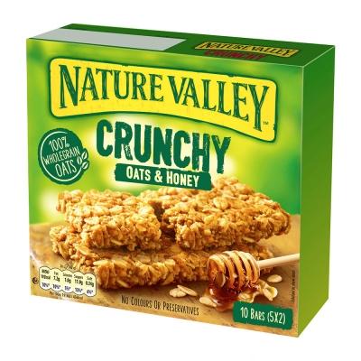 天然谷纖穀派-蜂蜜燕麥(42g x 5條/盒)
