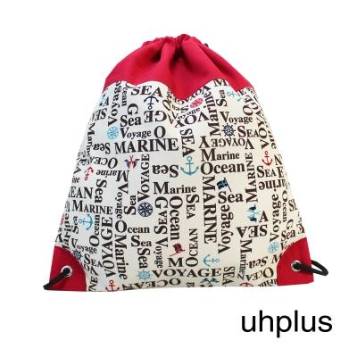 uhplus 小旅行束口立背包 Basic-小海軍(RED)