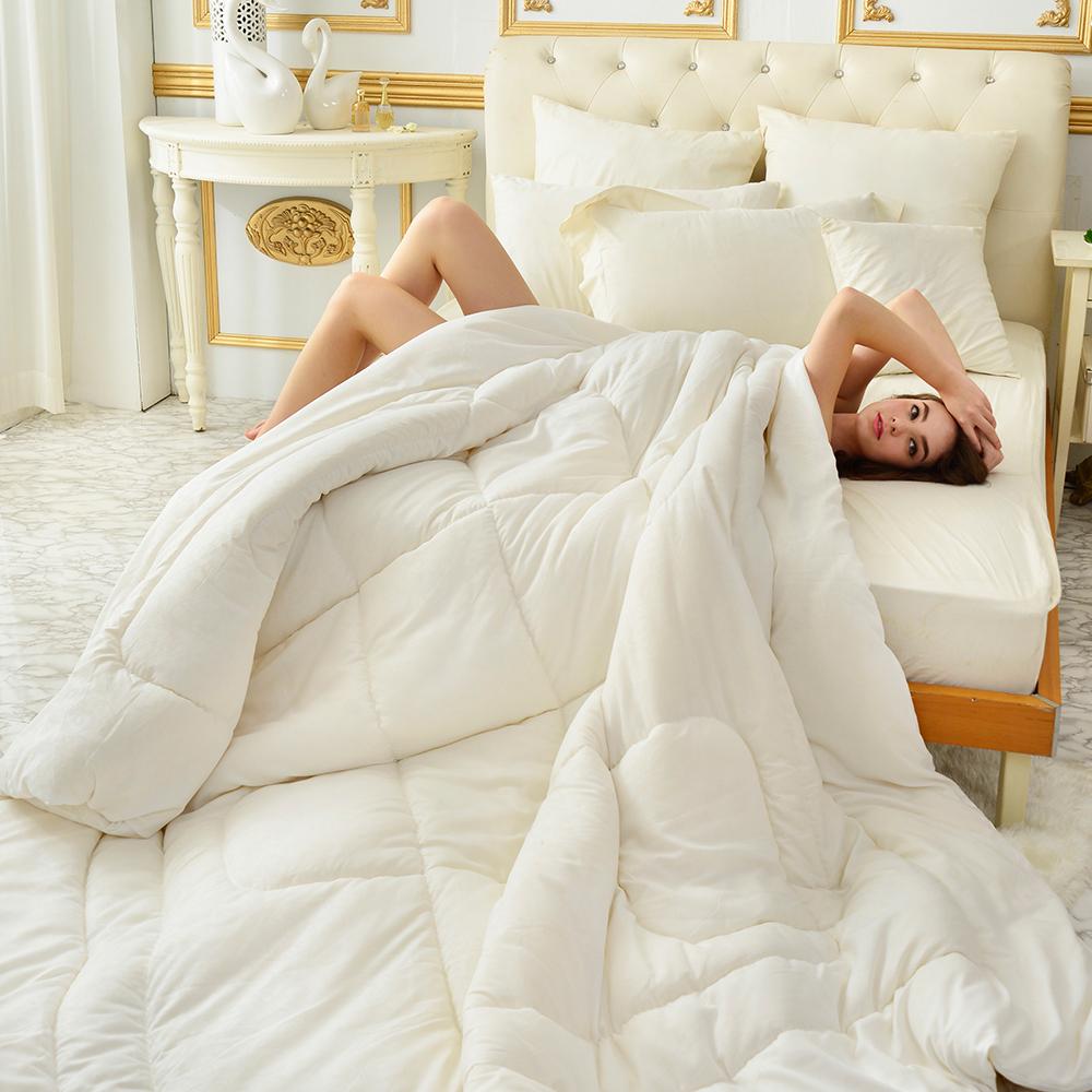 義大利La Belle 100%法國羊毛雙人暖冬被-3KG