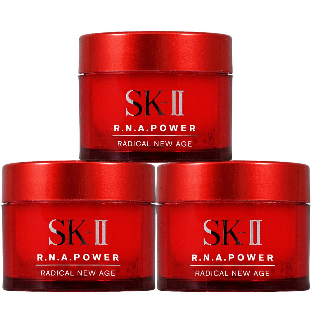 SK-II R.N.A超肌能緊緻活膚霜(15g)*3