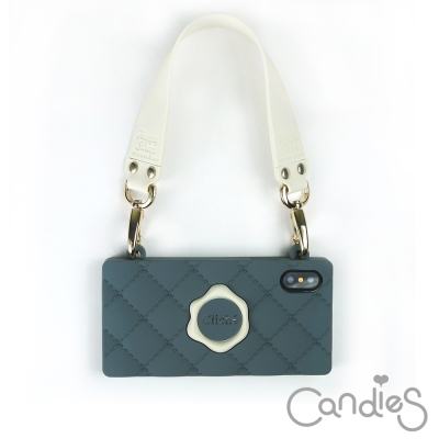 Candies Happy Strap Cliche晚宴包(深灰) iPhone...