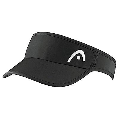 HEAD奧地利 專業級 女性遮陽帽/頂空帽-黑  287036