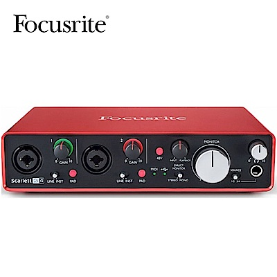 Focusrite Scarlett  2 i 4   2 nd Gen 錄音介面