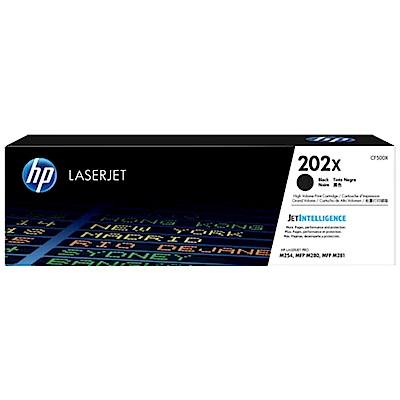 HP Color LaserJet Pro M254原廠黑色碳粉匣(CF500X)