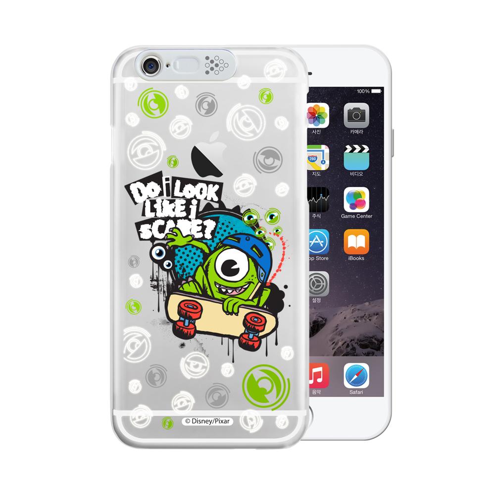 OPENBOX iPhone 6/6S 4.7吋可愛爆閃手機殼-嘻哈大眼仔