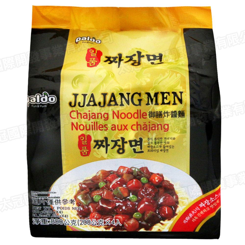 Paldo 韓國御膳炸醬麵(200gx4包)