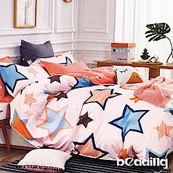BEDDING-100%棉3.5尺單人薄式床包二件組-星辰