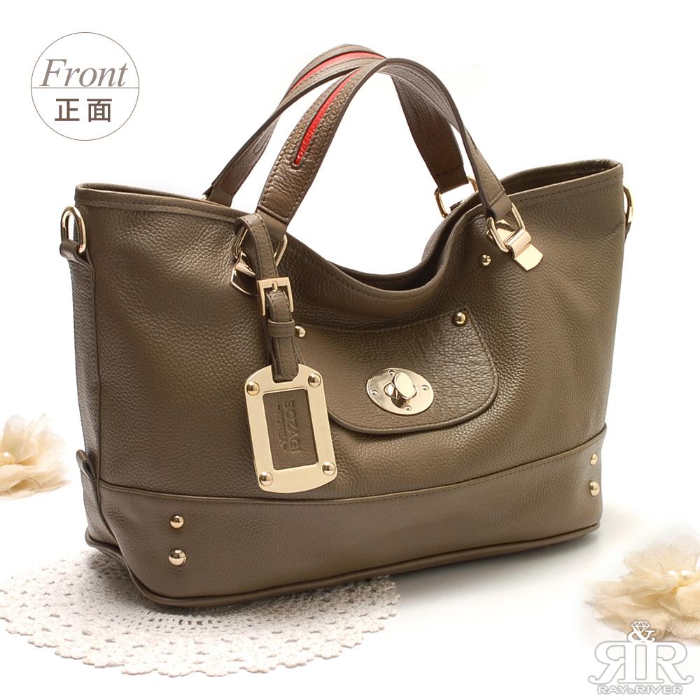 【2R】金釦牛皮口袋包(曼特寧咖啡)
