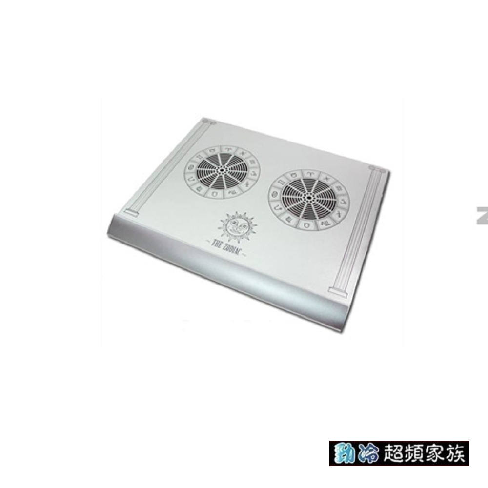 EVERCOOL勁冷超頻家族 12星座純鋁散熱機座(白色)