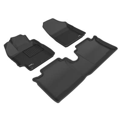 3D 神爪卡固立體踏墊 Toyota Vios 2014~2016+ 汽油版