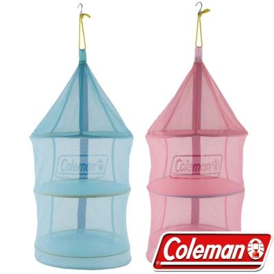 Coleman 26812粉紅+26813藍 收納廚網/防蚊防蠅吊籃/通風餐廚籃 公司貨