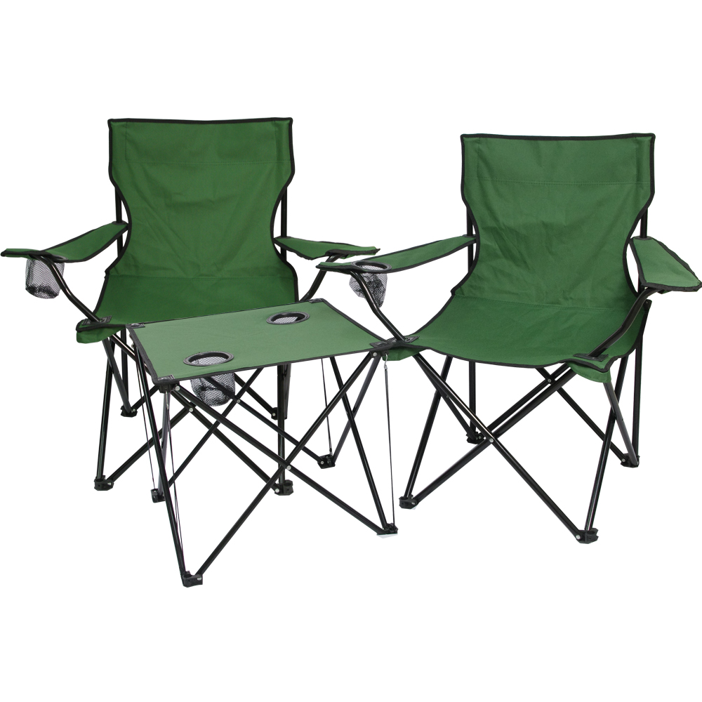 綠野仙蹤輕量摺疊桌椅組(一桌二椅)