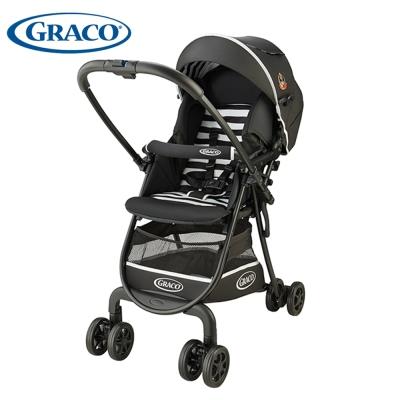 Graco嬰幼兒手推車-城市漫遊R挑高版 CitiLite R UP(鋼琴餅乾BK)