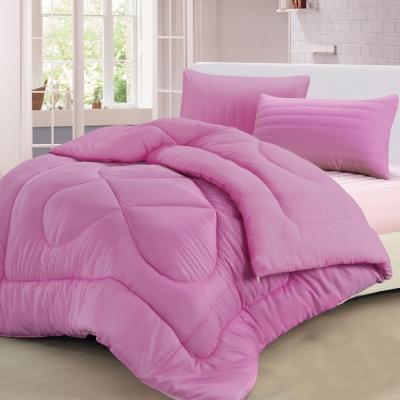 精靈工廠 遠紅外線抗蹣抑菌/專利吸濕排汗 超熱感羊毛被2.1KG 單一紫色