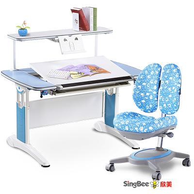 SingBee欣美-皇家全能桌-上層書架-132椅