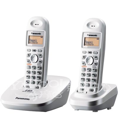 Panasonic 國際牌 2.4GHz無線電話 KX-TG3612(珍珠白)
