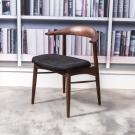 杰諾家居-伊尼梣木餐椅-60x52x71.5cm