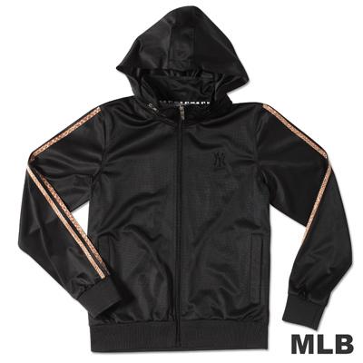 MLB-紐約洋基隊動物紋運動外套-黑(女)