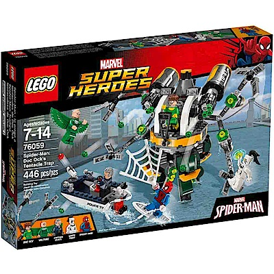 LEGO 樂高玩具 Doc Ock's Tentacle Trap 76059