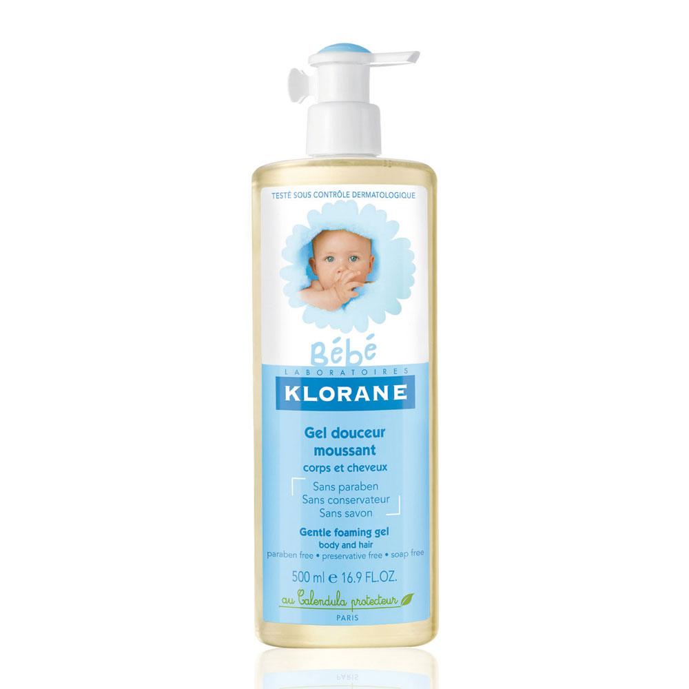 KLORANE蔻蘿蘭 寶寶洗髮沐浴精500ml(送蔻蘿蘭寶寶試用品x3)