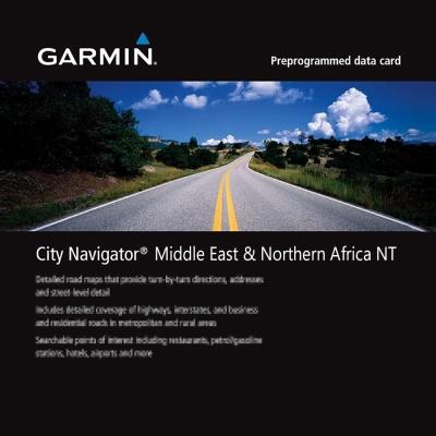 GARMIN 中東及北非地圖卡-快