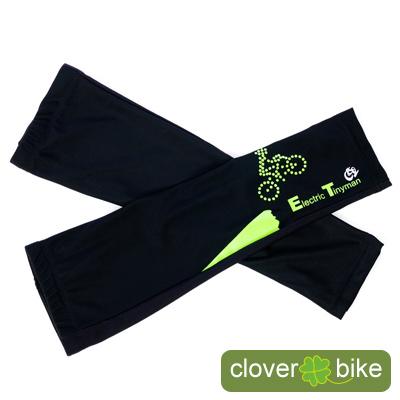 【CLOVER】獨家設計 E.T.小綠人 自行車專用袖套