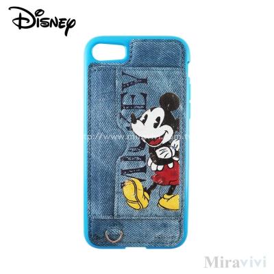 Disney迪士尼iPhone 8/7(4.7吋)可立式復古牛仔布保護殼