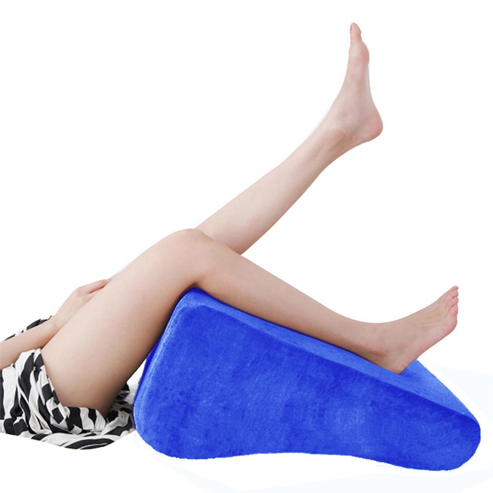 美人心機 台灣製纖腿枕/靠枕/抬腿枕 (寶藍)