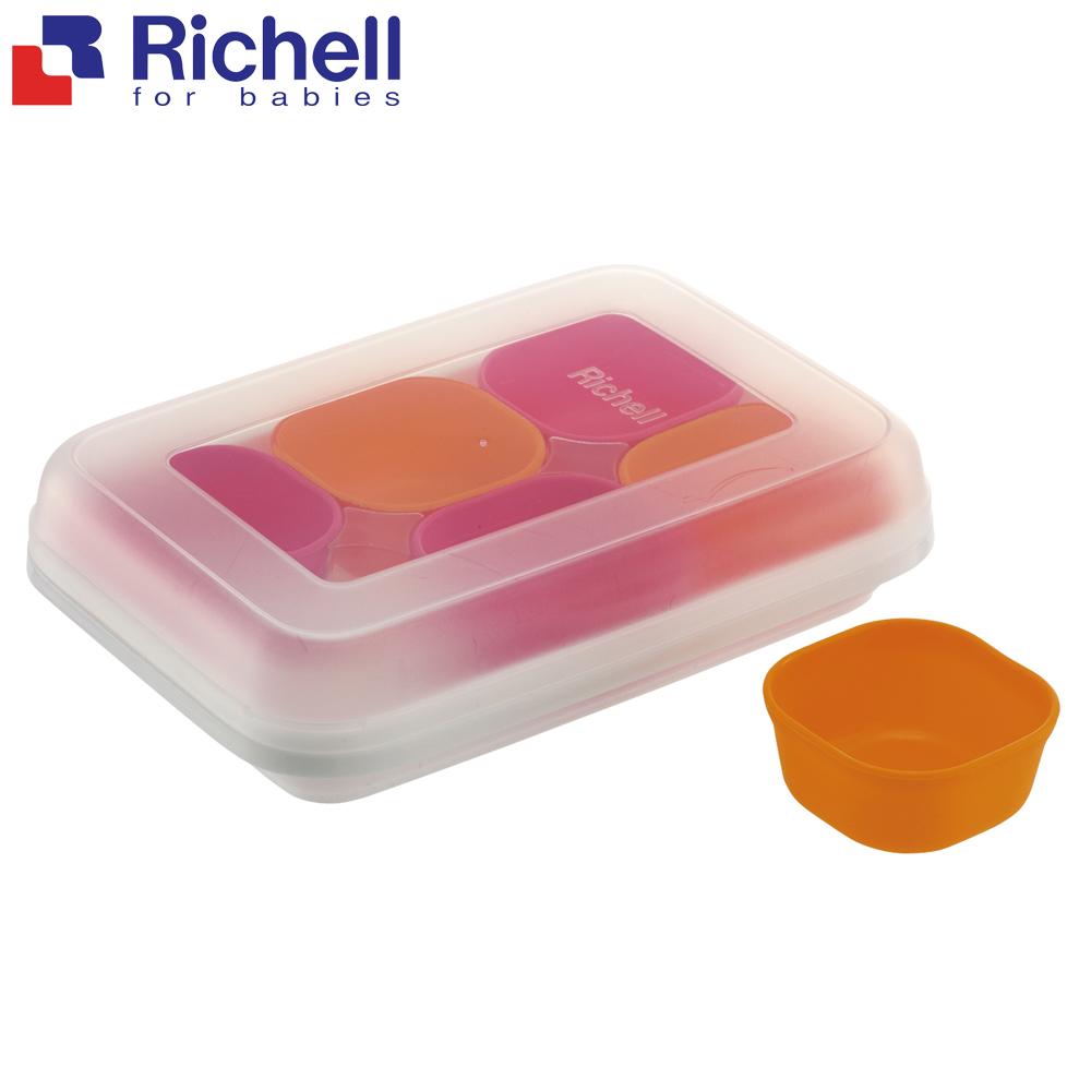 日本利其爾 Richell 離乳食分裝盒25ml