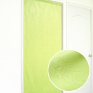 布安於室-似桂冠葉遮光壓紋長門簾-鮮綠
