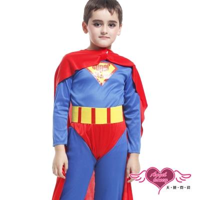 天使霓裳 超級英雄 萬聖節童裝系列(紅藍S~L)