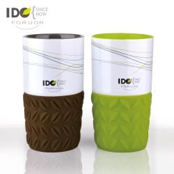 法國FORUOR IDO 矽膠底咖啡對杯組-350ml