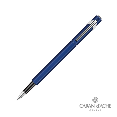 CARAN dACHE 卡達 - Office│line 849 鋼筆 藍色