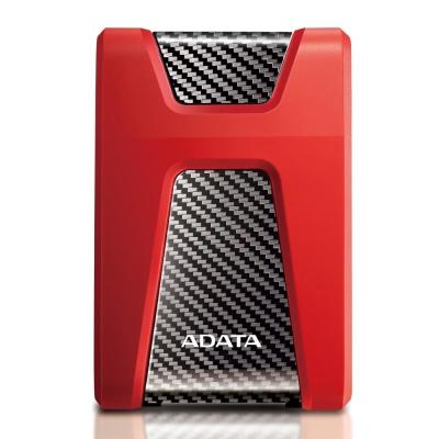 ADATA 威剛 HD650 1TB USB3.0 2.5吋行動硬碟 -紅