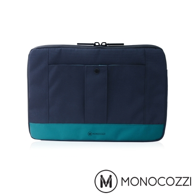 MONOCOZZI Gritty 保護內袋 for Macbook 13 吋-海洋藍