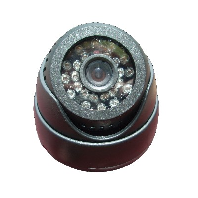 監視器攝影機 - 奇巧CHICHIAU 插卡式24燈紅外線夜視半球型攝影機