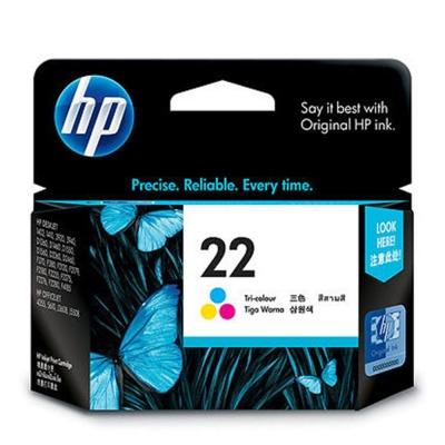 HP C9352AA NO.22 原廠彩色墨水匣