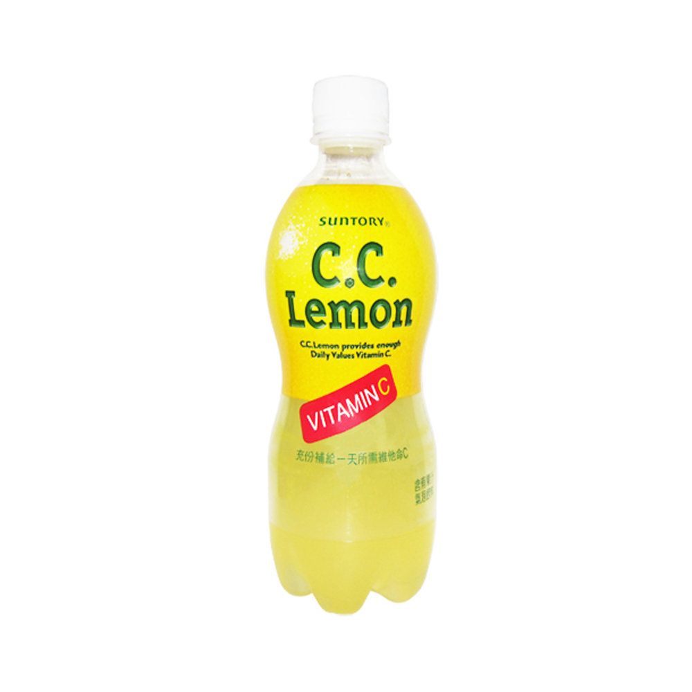SUNTORY C.C.Lemon氣泡飲料(500ml x 6入)