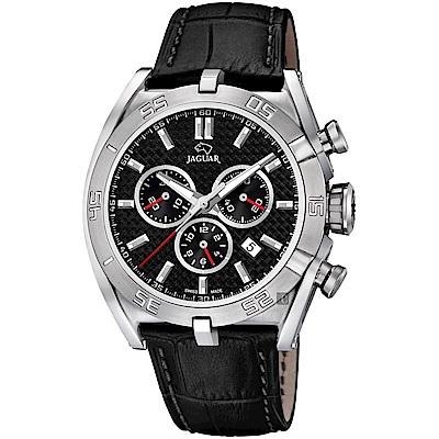 JAGUAR積架 EXECUTIVE 極速計時手錶-黑/45.8mm