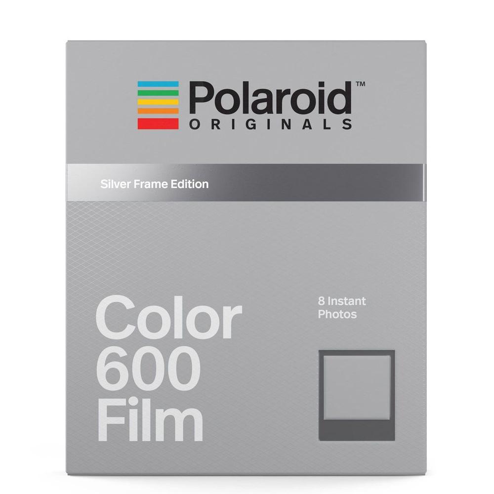 Polaroid Color Film for 600 彩色底片(銀框)/2盒