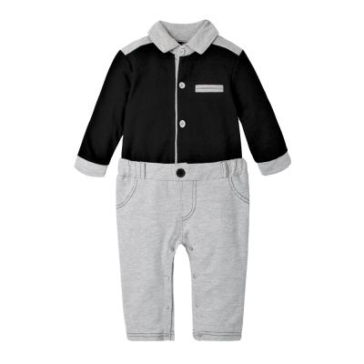 baby童衣 紳士造型假兩件長袖連身衣 70111