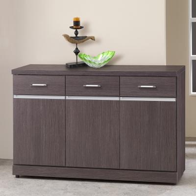 Homelike 萊恩4尺收納餐櫃-121x41x82cm