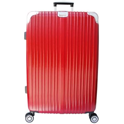 YC Eason 麗致 29 吋PC髮絲紋可加大海關鎖行李箱 紅