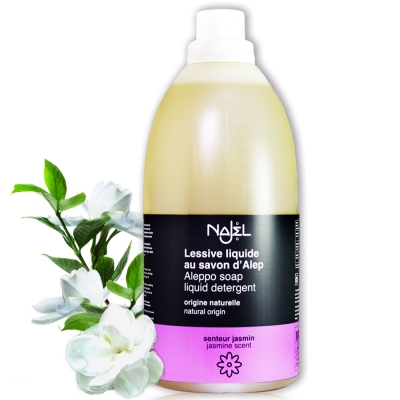 法國NAJEL阿勒坡皂天然低敏濃縮洗衣精2L(茉莉花香)