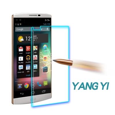 YANG YI 揚邑 LG V10 防爆防刮防眩弧邊 9H鋼化玻璃保護貼