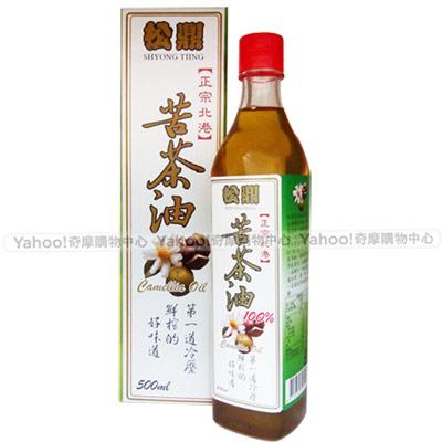 松鼎正宗北港 苦茶油x1瓶(500ml/瓶)