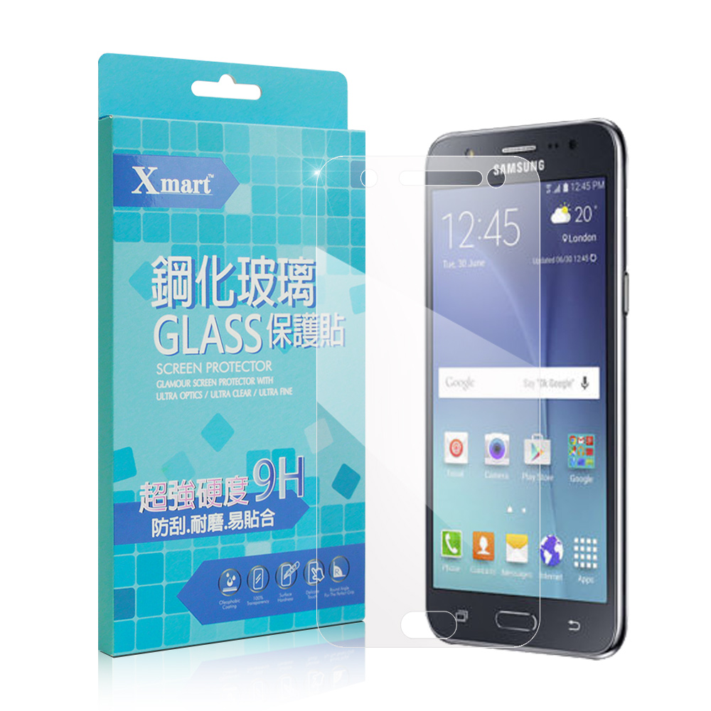 X mart 三星 GALAXY J7 2016版 強化0.26mm耐磨玻璃保護貼