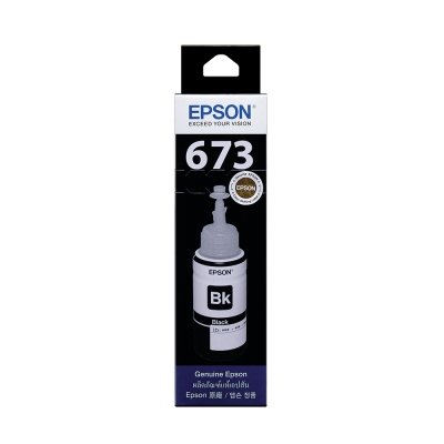 EPSON T673100 原廠黑色墨水匣