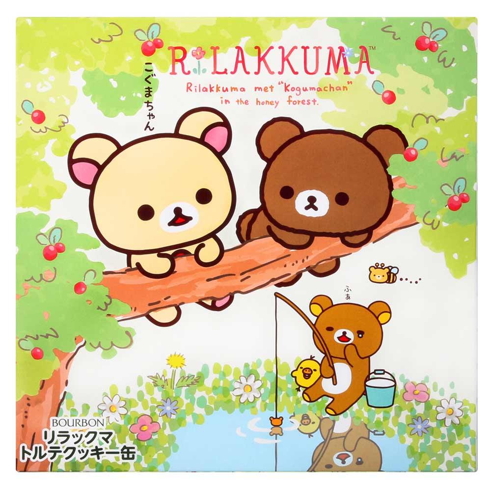 北日本 利拉熊綜合餅乾禮盒(310.8g)