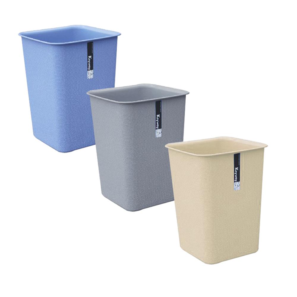 KYOTO方型中垃圾桶8.4L(三入)組